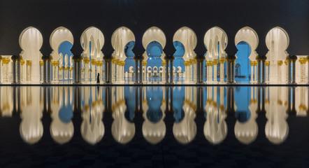 Fotobehang Midden Oosten Arch in a mosque