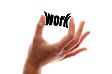 Less work