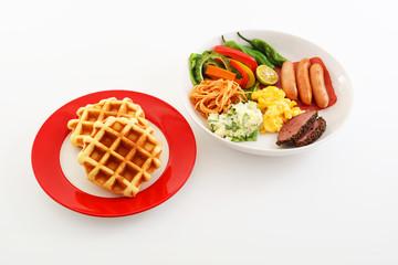 おいしそうな朝食