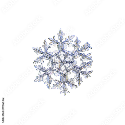 real snowflakes background - photo #13