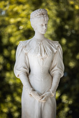 Statue of The Empress Elizabeth of Austria