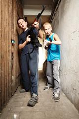 Teenage fighters