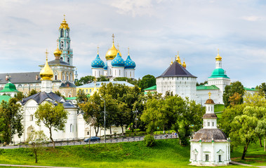 View of the Trinity Lavra of St. Sergius - Sergiyev Posad, Russi