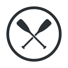 Illustration of fishing and fish icon