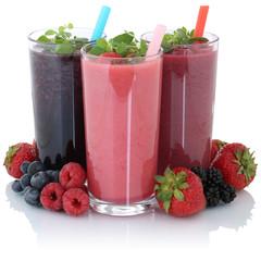 Smoothie Saft mit frische Früchte Fruchtsaft Freisteller