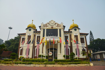 Melaka, Malaysia - September 22 2015: The Proclamation of Independence Memorial is now a museum.