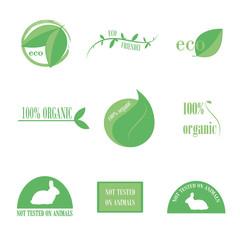 eco friendly & organic logo
