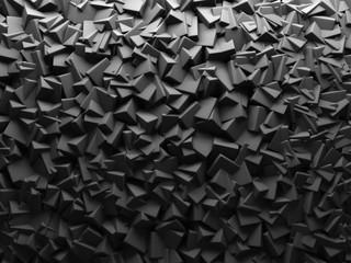 Abstrakcjonistyczny Chaotyczny sześcian 3D