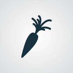 Flat Carrot icon