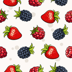 Berries background 001