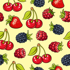 Berries background 002