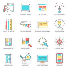 Designer Icons Line Set