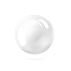 White ball.