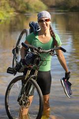 Travel by bike.