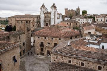 Hermosa ciudad monumental de Cáceres situada en la región de Extremadura, España