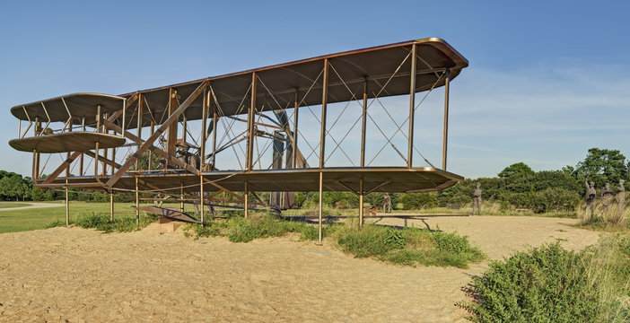 Wright Brothers National Memorial, Full Sized First Flight Repli