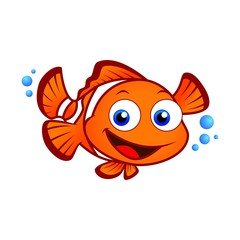 Canvas Prints Fairytale World clown fish