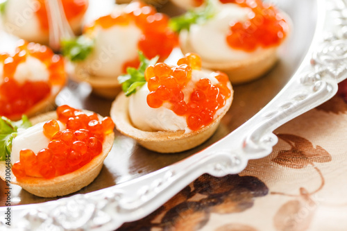 Canape with caviar stock photo and royalty free images for Canape vector download
