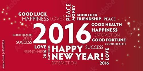 2016 Neujahrsgruss rot - englisch\