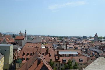 Blick über Regensburg