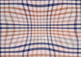 Blue and brown abstract textile background.