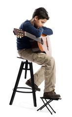 Romatic Child Guitarist