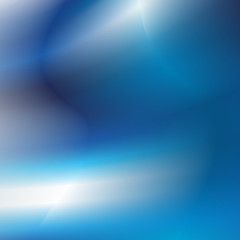 Abstract blue lights futuristic background