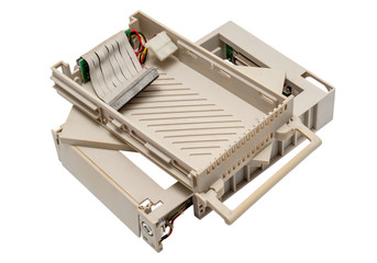 Electronic collection - Used old mobile hdd rack