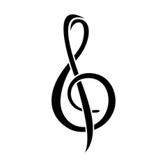 Treble Clef Musical Note