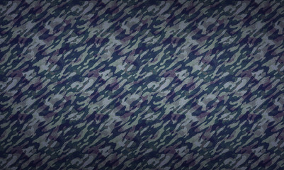 Camouflage Pattern Background - a background with camouflage texture in dark colors.