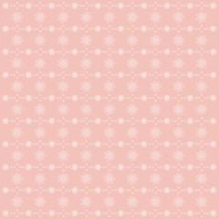 Cute stars kids pink vector pattern