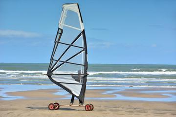 speed sail sur la plage