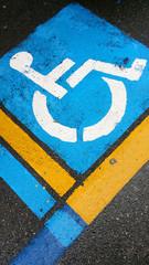 Siignal handicap on asphalt