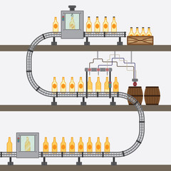 beer factory simple graphic