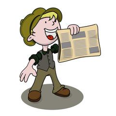Newsboy.