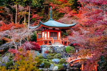 Autumn season,Daigoji Temple Japan