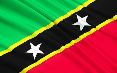 Flag of Saint Kitts and Nevis, Basseterre