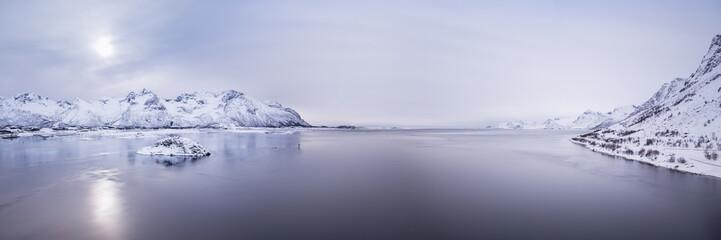 Tuinposter Scandinavië lofoten island
