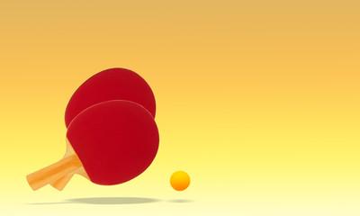 Table tennis, racquet ball