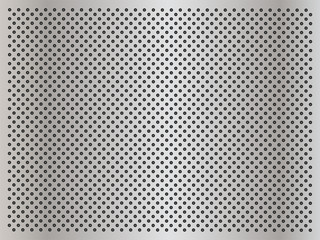 Vector gray metal steel or aluminum texture
