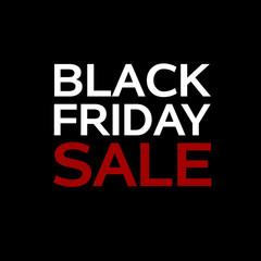 black Friday sale deals web banner black background