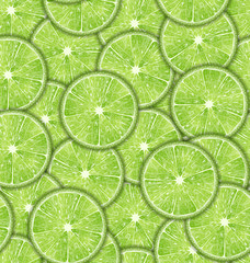Seamless Pattern Slices of Lime