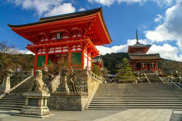 Daytime Image of Kyomizu Temple