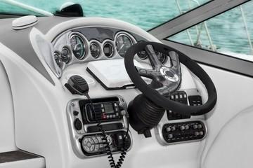 Modern Speed Motor Boat Interior