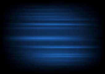 Dark blue abstract blurred stripes background