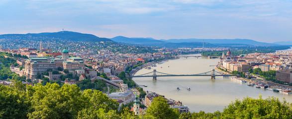 Printed kitchen splashbacks Budapest Budapest city skyline panorama - Budapest - Hungary