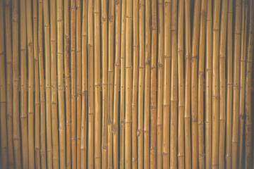bamboo fence background Film Style