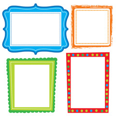 cute frame design suitable for scrapbook and decorating your photo