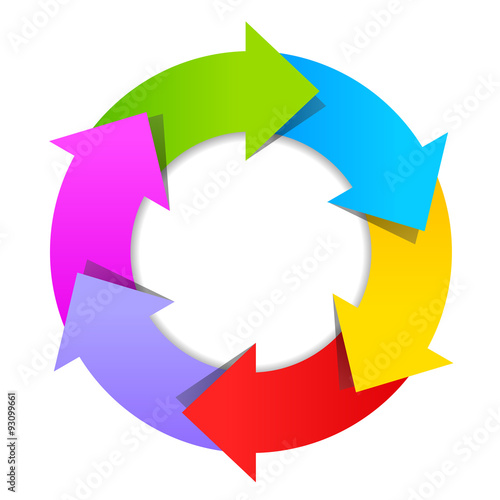 6 arrows wheel diagram stock image and royalty free vector files on 6 arrows wheel diagram ccuart Images