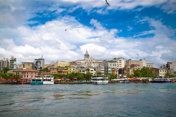 Boat trip in Istanbul